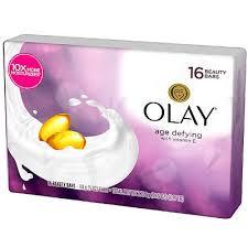 Olay Age Defying Beauty Bars Bath Soap with Vitamin E 16 Count