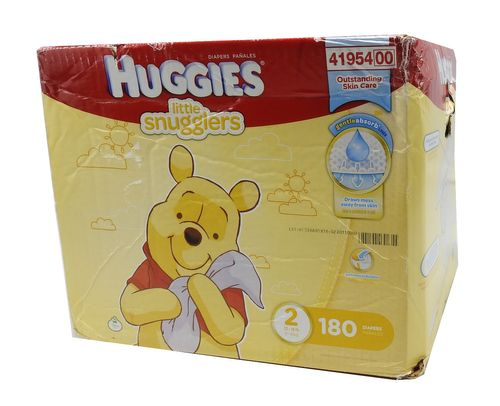 Huggies Little Snugglers Diapers, Size 2 (180 ct.)
